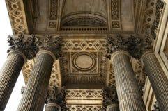 Plafond de Panthéon Photos libres de droits