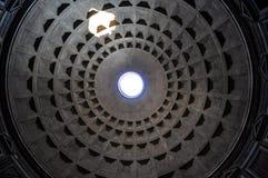 Plafond de Panthéon Image libre de droits