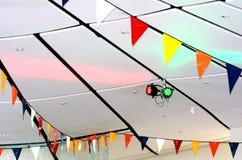 Plafond de partie d'événement Images stock