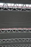 Plafond 3 de structure métallique Photo libre de droits