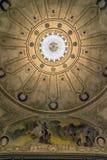 Plafond de théâtre historique à Montevideo, Uruguay Image libre de droits