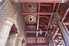 Plafond de Wat Phra Kaew, Bangkok, Thaïlande, Asie Photo libre de droits