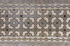 Plafond du palais de miroir en Amer Palace Images stock