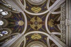 Plafond du palais de paix image libre de droits