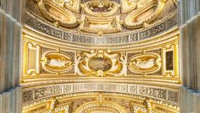 Plafond du palais des doges images libres de droits
