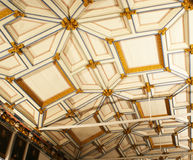 Plafond en bois Photos libres de droits