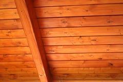 Plafond en bois Image stock