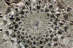 Plafond en cristal Photographie stock