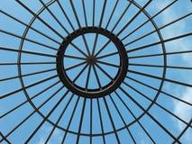 Plafond en verre. Photographie stock libre de droits
