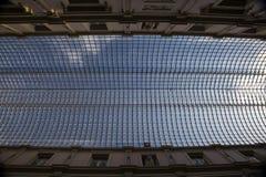 Plafond en verre Photographie stock