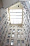 Plafond en verre Photographie stock libre de droits