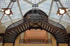 Plafond en verre Chicago Photo stock