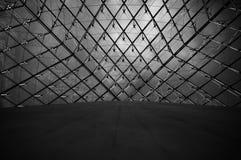 Plafond en verre de l'auvent Images libres de droits