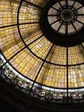 Plafond en verre de souillure Photos libres de droits