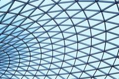 Plafond en verre modelé Photos libres de droits