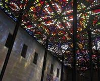 Plafond en verre souillé Photos libres de droits