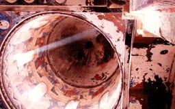 Plafond ensoleillé dans l'église de l'Ani antique Photos libres de droits