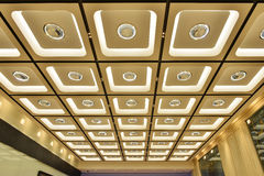 Plafond fleuri moderne Images libres de droits