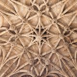 Plafond gothique de cathédrale à Albi, France Photo libre de droits