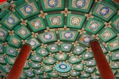 Plafond, het paviljoen van de dubbel-Cirkel Stock Afbeelding