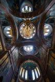 Plafond het schilderen in de kerk Stock Fotografie