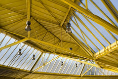 Plafond industriel photographie stock