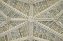 Plafond in ingang van Houderszaal - Princeton-Universiteit Royalty-vrije Stock Afbeeldingen