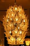 Plafond Lichte kroonluchter Stock Afbeelding