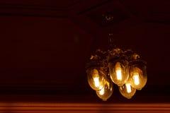 Plafond lichte mooie vorm Stock Foto