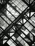 Plafond noir et blanc Images libres de droits