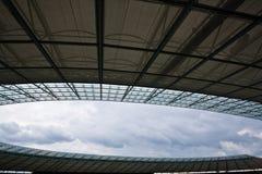 Plafond olympique de stade de Berlin photos stock