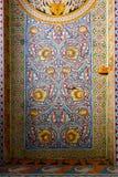 Plafond peint floral coloré décoratif image libre de droits