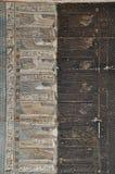 Plafond peint par temple de Dendera Hathor, Egypte Images libres de droits