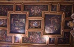 Plafond van Basiliek van St Bartholomew op het Eiland Royalty-vrije Stock Fotografie