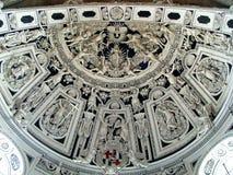 Plafond van de kathedraal stock afbeelding