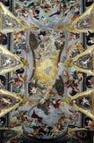 Plafond van de Kathedraal van Sinterklaas in Ljubljana, Slovenië Stock Afbeelding