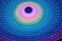 Plafond van de Mulitcolored het Lichte Tempel, China Stock Fotografie
