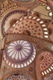 Plafond van de sultan ahmet moskee Royalty-vrije Stock Afbeeldingen
