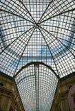 Plafond van GOMwinkelcomplex bij Rood Vierkant in Moskou, Rusland royalty-vrije stock foto's