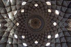 Plafond van Huis Borujerdis Stock Afbeelding