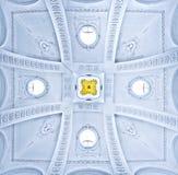 Plafond van Peter en Paul Cathedral in St. Petersburg, Rusland Stock Foto's