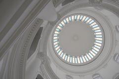 Plafond victorien en verre souillé Photo libre de droits