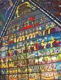 Plafond in wafiwandelgalerij Doubai Royalty-vrije Stock Foto's