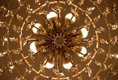 Plafondkroonluchter Royalty-vrije Stock Afbeeldingen