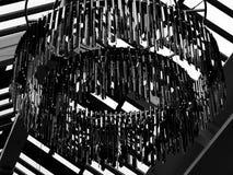Plafondkroonluchter Stock Afbeeldingen