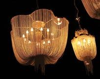 Plafondlamp Royalty-vrije Stock Foto's