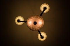 Plafondlamp in mierengezicht Stock Foto