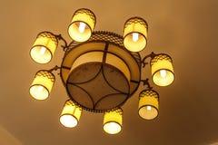 Plafondlampen Stock Afbeeldingen