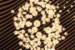 Plafondlichten Royalty-vrije Stock Afbeelding