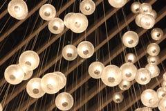 Plafondlichten Royalty-vrije Stock Foto's